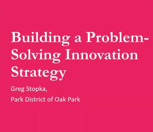Building a Problem Solving Innovation Strategy